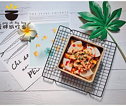 含主又含辅的减脂餐:南瓜芋头蒸鸡腿