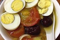 鸡蛋蕃茄糖水#全民赛西红柿炒鸡蛋#的做法