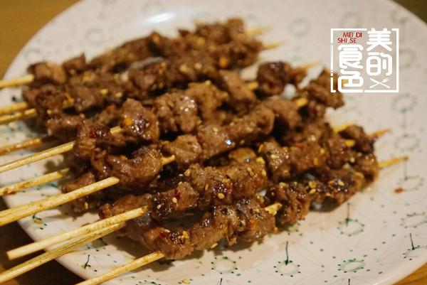 宵夜-牛肉串的做法
