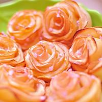 玫瑰苹果卷 可以吃的浪漫的做法图解10