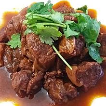 西红柿(酱)炖牛肉