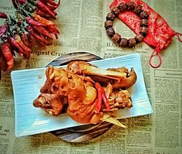 红酱羊蹄的做法