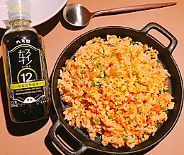 台式萝卜干蛋炒饭的做法