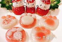 草莓圣诞老人&熊掌汤圆的做法