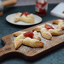 草莓果酱风车酥(附千层酥做法)