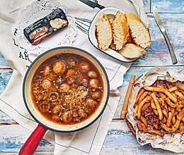 #夏日撩人滋味#蒜香焗蘑菇土豆的做法