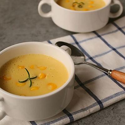 土豆玉米浓汤