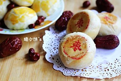 平底锅做月饼【枣泥酥皮月饼】附:自制纯正枣泥馅