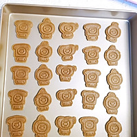 可可味卡通饼干的做法图解7
