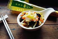 素炒韭菜黄#沃康山茶油#的做法
