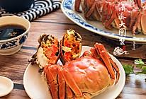 清蒸大闸蟹【附食蟹小贴士】#肉食者联盟#的做法