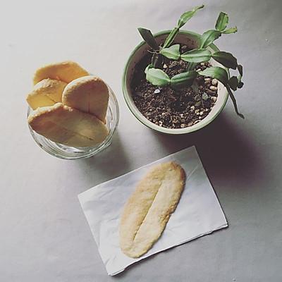 简单版牛舌饼