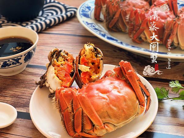 清蒸大闸蟹【附食蟹小贴士】的做法