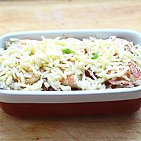 鲜虾焗饭#美的微波炉菜谱#的做法图解10