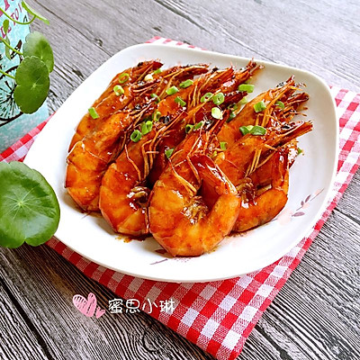 【私房菜】吮指油焖大虾