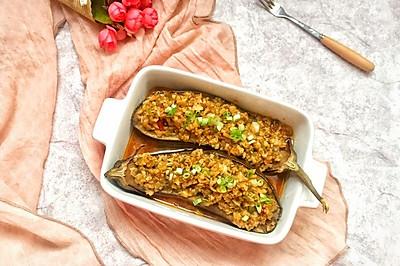 夏季烧烤节~蒜香烤(蒸)茄子