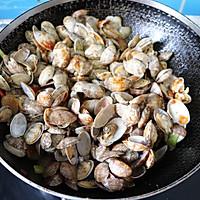 鲜美好吃的酱炒花蚬子的做法图解11