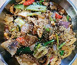 家庭版干锅兔#美食视频挑战赛#的做法
