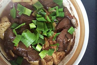 豆腐燉鴨血