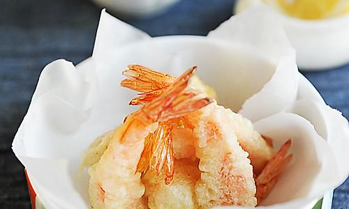 鲜虾天妇罗的做法