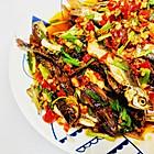 香煎刁子鱼--湖南人最爱吃的
