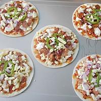 迷你披萨  #百吉福芝士力量#的做法图解17