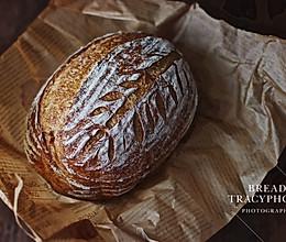 免揉乡村面包#初夏搜食#的做法