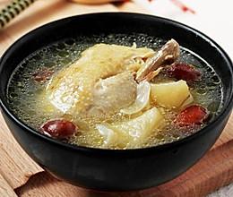 苹果百合鸡汤的做法