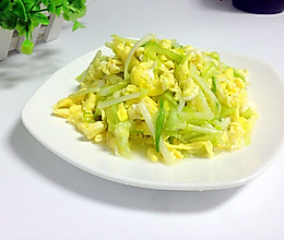 韭黄炒鸡蛋的做法
