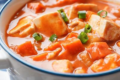 日食记   咖喱豆腐