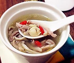 墨鱼猪肚汤的做法