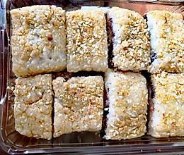 陕西小吃蜂蜜红豆糯米凉糕的做法