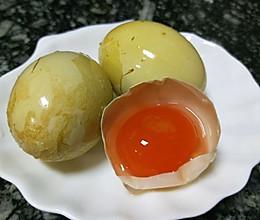泡咸鸭蛋的做法