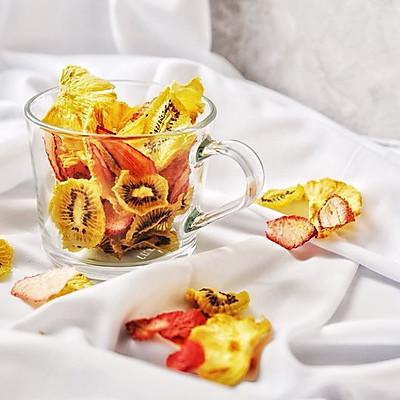 纯天然无添加健康零食-自制干燥水果脆片