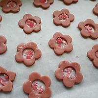 草莓玻璃心饼干的做法图解12