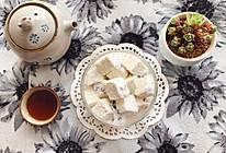 椰汁蜜豆雪花糕的做法