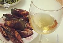 白葡萄酒配青口贝的做法