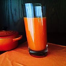 胡萝卜橙子果蔬汁
