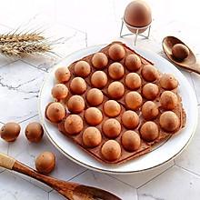 #好吃不上火# 鼎鼎大名的鸡蛋仔原来这么简单,在家也能做