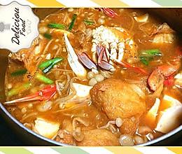 韩式辣螃蟹汤的做法