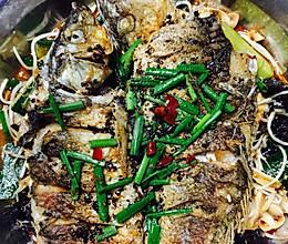 家庭版(无烤箱)烤鱼的做法