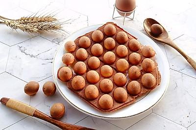 鼎鼎大名的鸡蛋仔原来这么简单,在家也能做