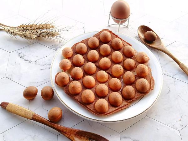 鼎鼎大名的鸡蛋仔原来这么简单,在家也能做的做法