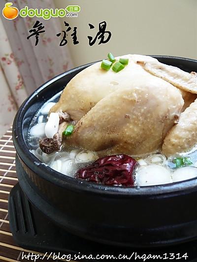 滋补养生的参鸡汤,简单在家做!的做法