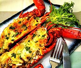 芝士焗龙虾的做法