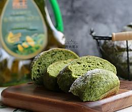 菠菜莜麦软欧(免揉)#西王鲜滋味#的做法