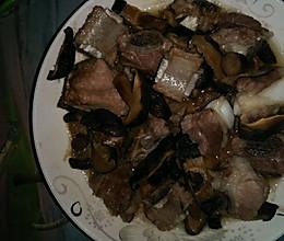 香菇蒸排骨(孕妇食谱)的做法
