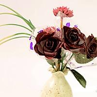 巧克力玫瑰花的做法图解14