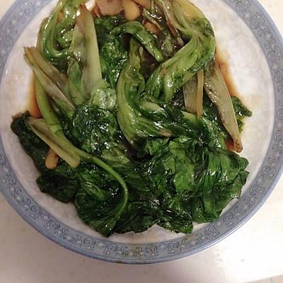 蚝油生菜的做法 步骤4