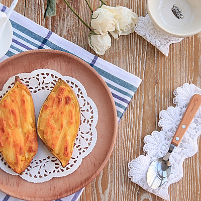 芝士焗红薯